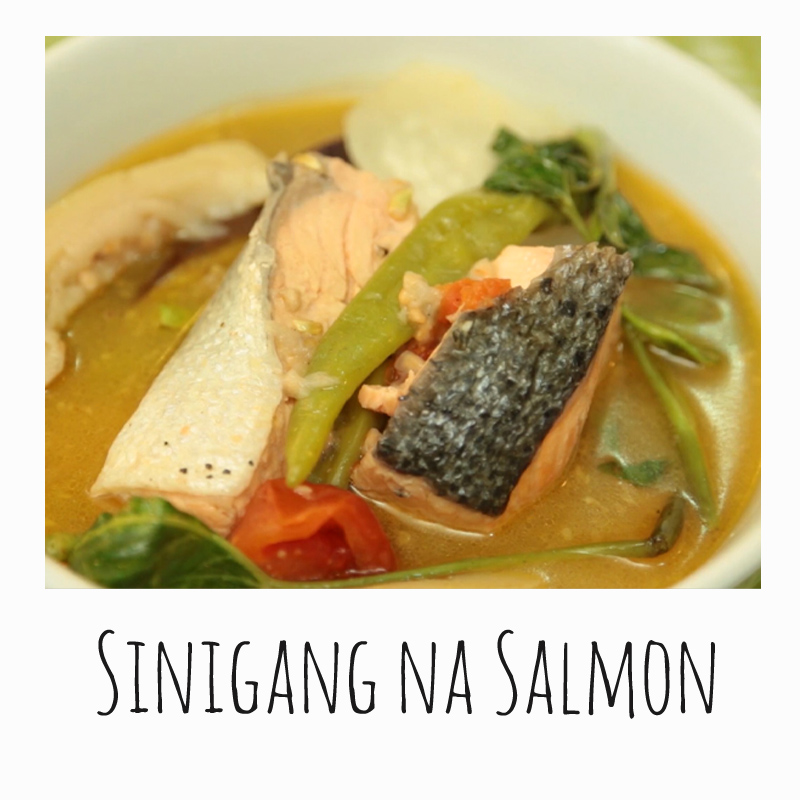 Sinigang Na Salmon Sa Bayabas By Chris Urbano Filipino Recipe